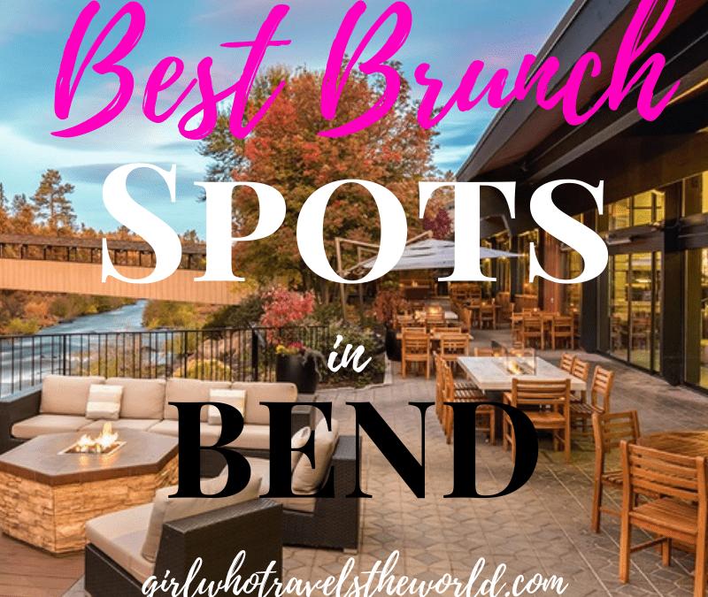 Best Brunch Spots in Bend, Oregon, Girl Who Travels the World