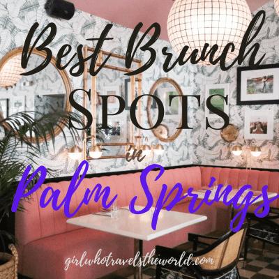 Best Brunch Spots in Palm Springs