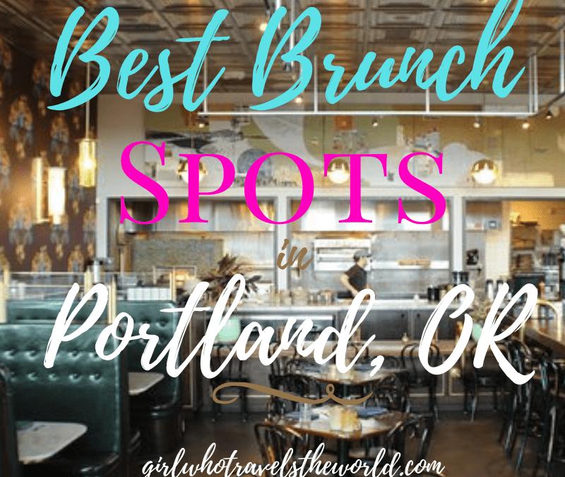 Best Brunch Spots in Portland, Oregon