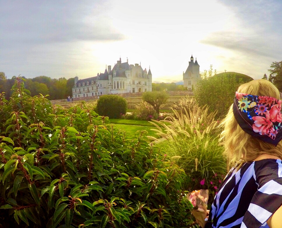 How to Create a French Country Garden, Girl Who Travels the World, Chateau Chenonceau