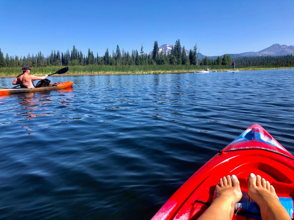 Top Five Lakes by Bend, Oregon, Girl Who Travels the World, Hosmer Lake