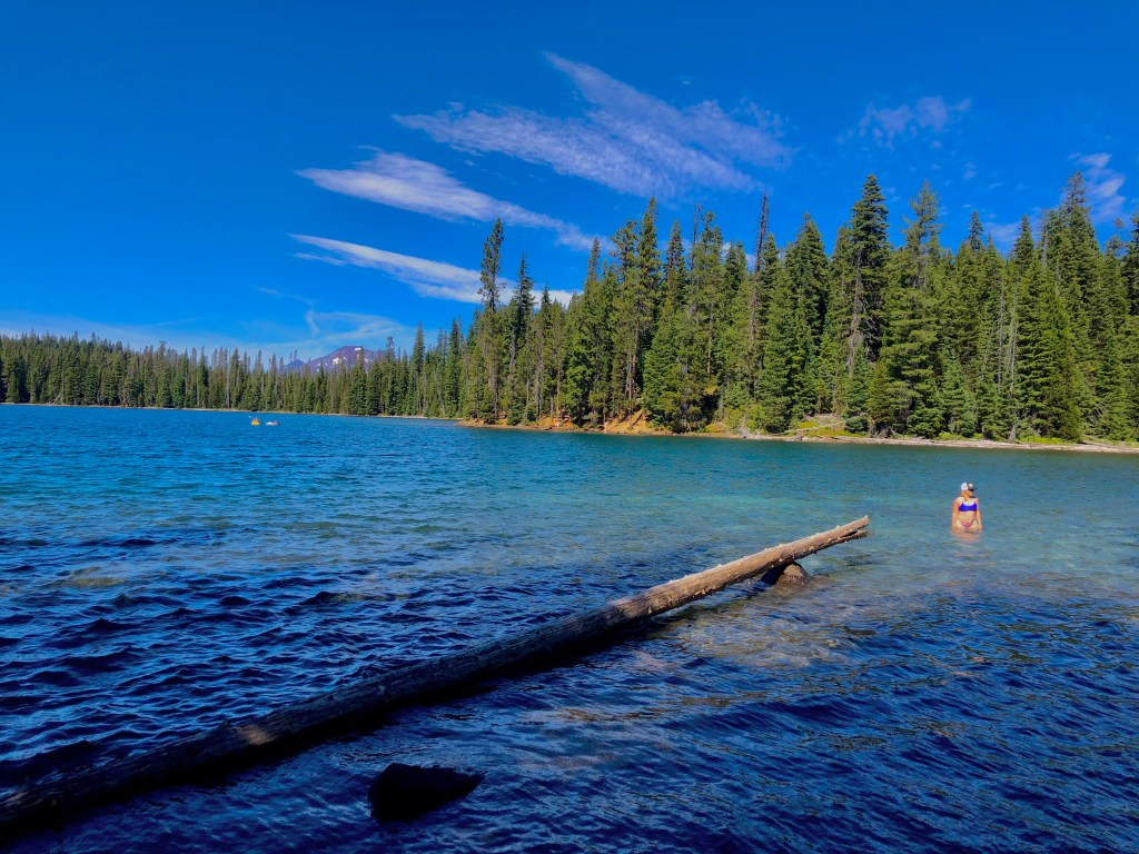 Top Five Lakes by Bend, Oregon, Girl Who Travels the World, Lucky Lake