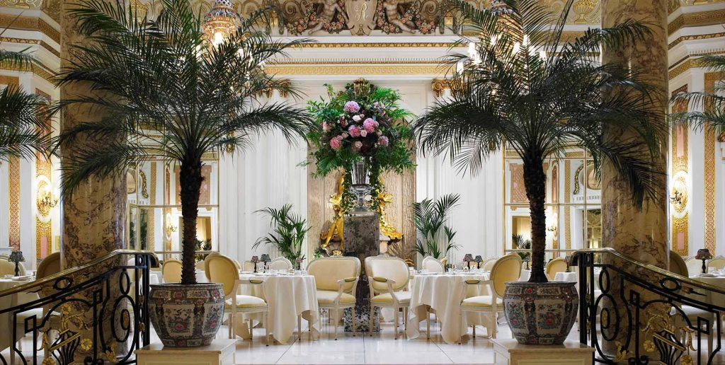 How to Have a Downton Abbey-Inspired Holiday, Girl Who Travels the World, Palm Court at the Ritz