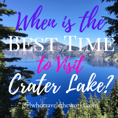 When to Visit Crater Lake in Oregon