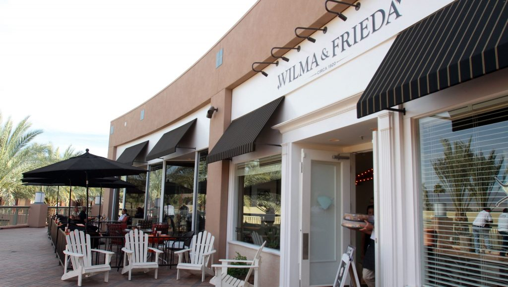 Best Brunch Spots in Palm Springs, Girl Who Travels the World, Wilma & Frieda's