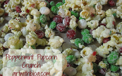 Peppermint Popcorn Crunch Recipe