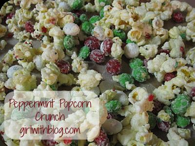 Peppermint Popcorn Crunch Recipe
