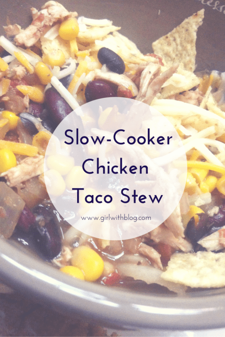 Slow-Cooker Chicken Taco Stew