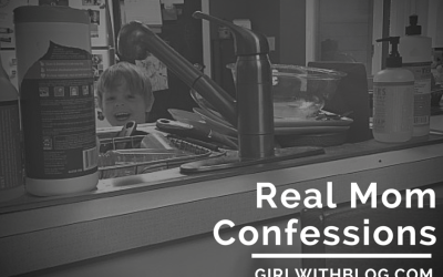 Real Mom Confessions: a mama update, the most epic meltdown ever, and lawnmower burps