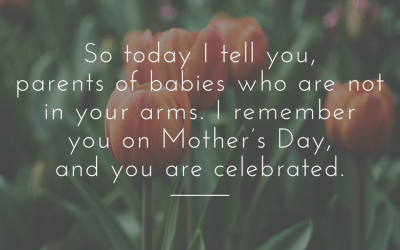 On Celebrating the Other Mothers on Mother's Day