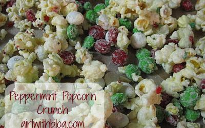 Day 25 :: Peppermint Popcorn Crunch