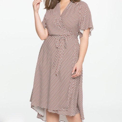 Girl With Curves | A wrap dress from Eloquii