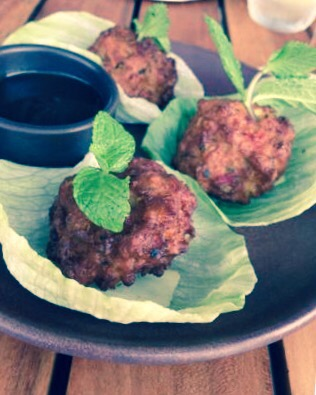 Shima - Spicy Corn & Coriander Fritters