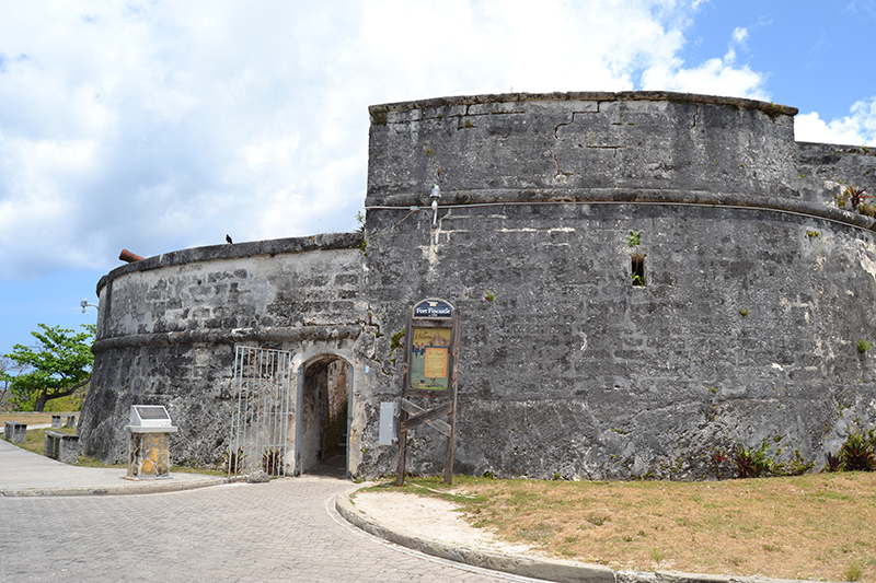 Entry of Fort Fincastle