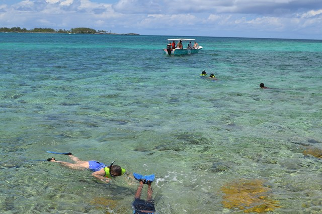 Pearl Island GWHV Snorkeling