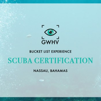 Bucket List Experience: Scuba Certification