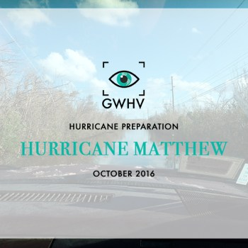 Hurricane Matthew - How to Prepare