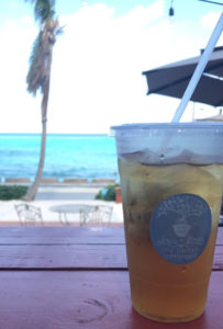 Louis & Steens New Orleans Coffee House - Peach Ginger Iced Tea