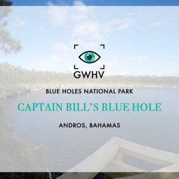 Captain Bill's Blue Hole - Andros