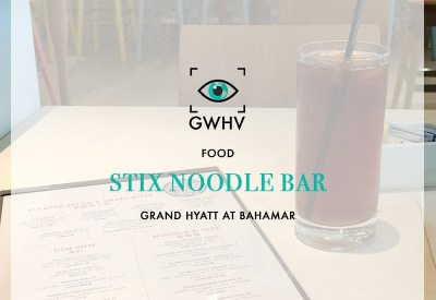 FOOD: Stix Noodle Bar
