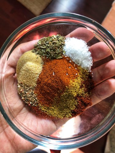 Shredded Chicken Spices