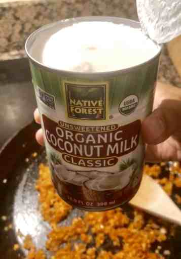 can of full fat coconut milk