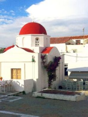 Be sure to put the the church of Paraportiani on your Mykonos itinerary.
