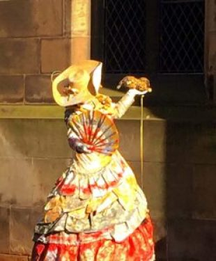 Take some time to walk along the Royal Mile and enjoy the street performers on your Edinburgh Scotland day trips.