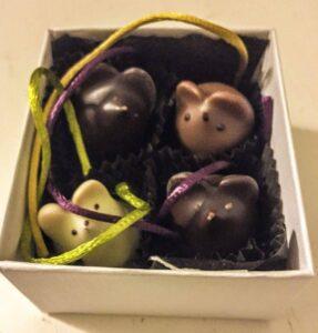 La Burdick chocolates