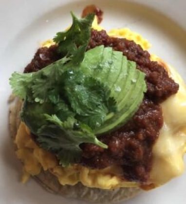 The Smith's Ranchero Scramble is always an NYC brunch favorite.