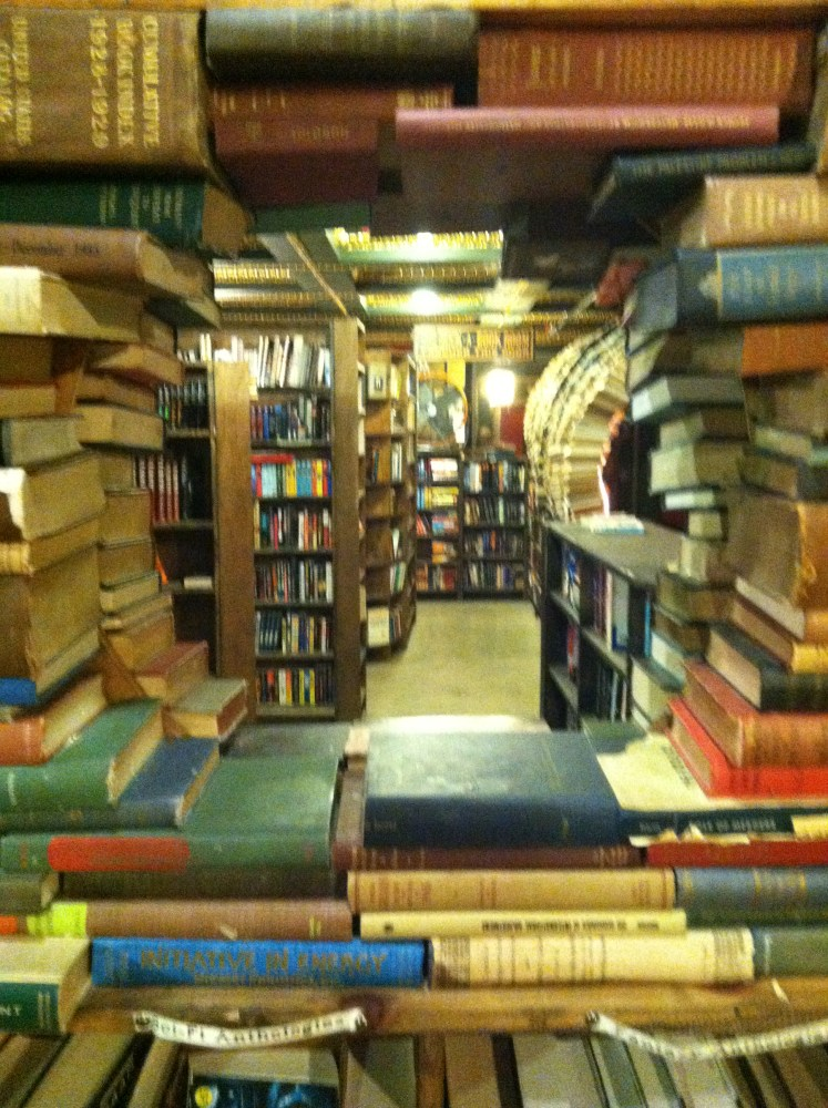 A Fine Day at The Last Bookstore in Los Angeles. (3/3)
