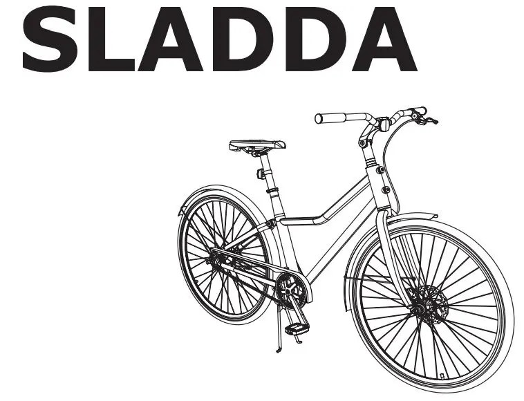 La bicicletta IKEA SLADDA