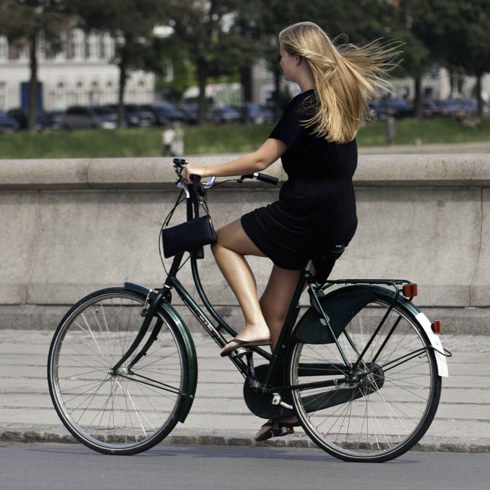 In bici per Copenhagen, foto Copenhagen Cycle Chic