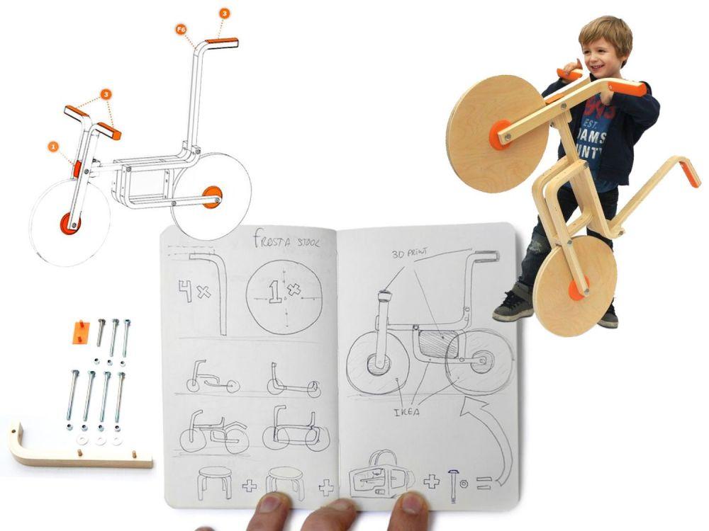 Progetto della bici Draisienne