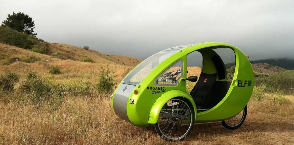 Bici-auto ELF, foto Organic Transit