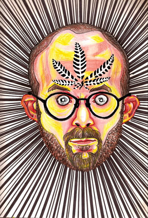 Drug-Influenced Self-Portaits by Bryan Lewis Saunders - Design Mash