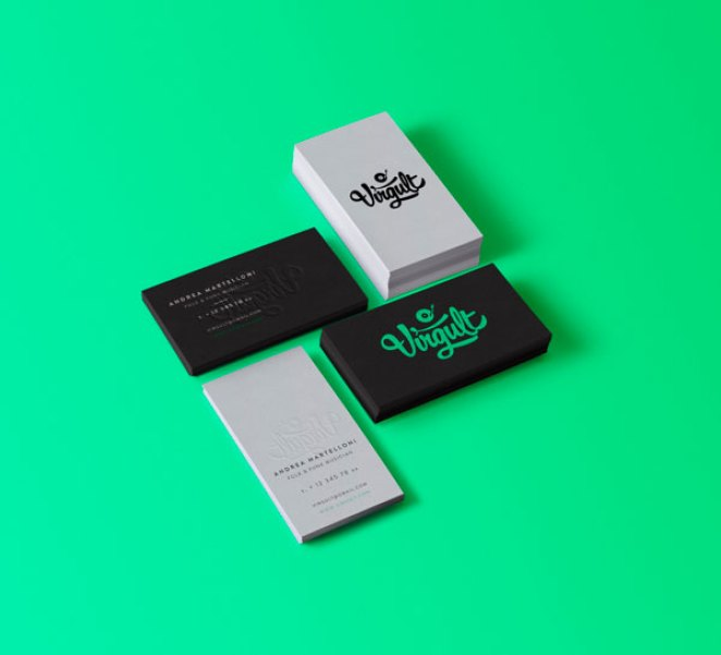 32 Beautifully Crafted Business Cards - Design Mash
