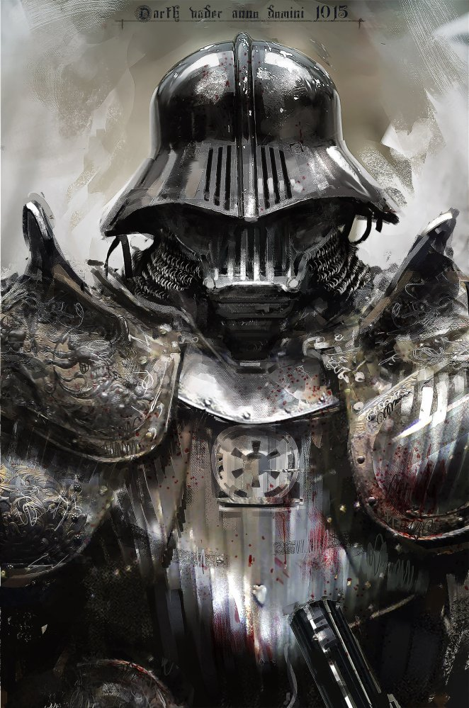 Daily Inspiration No.1- Medieval Darth Vader - Design Mash