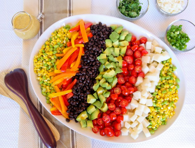 22 Colourful Rainbow Salads - Design Mash