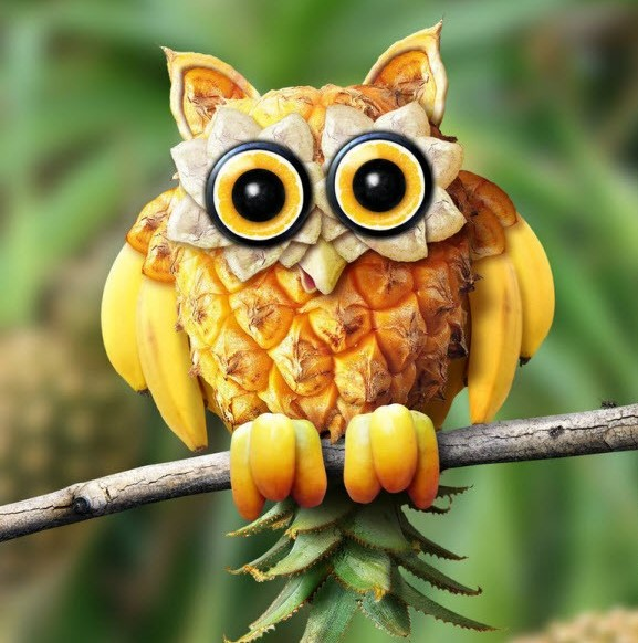 cute-art-made-from-fruit (19)