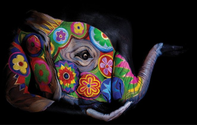 Body Art Turning Humans into Animals with Emma Fay - Girly Design Blog