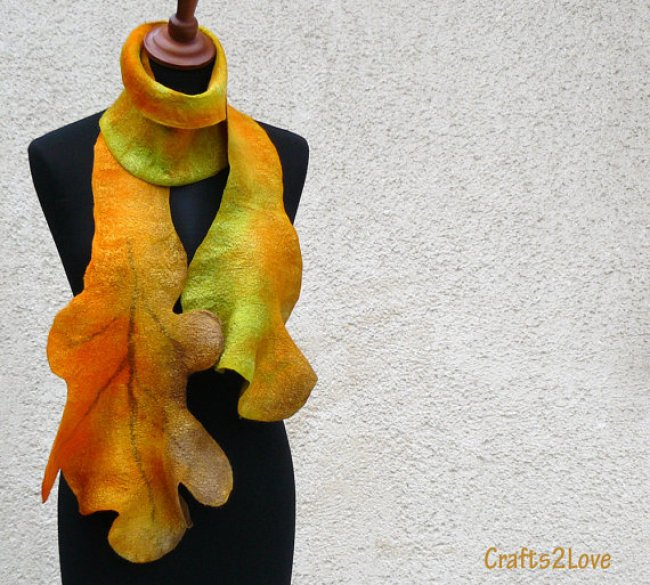 24 Unusual Scarf Designs - Girly Design Blog