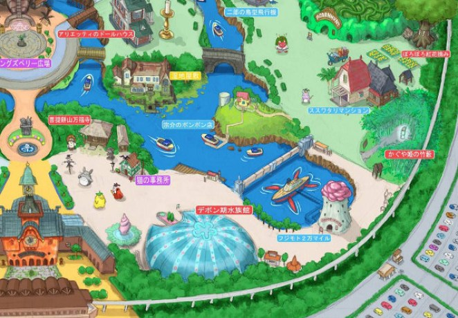 This is What a Studio Ghibli Theme Park May Look Like - Girly Design Blog