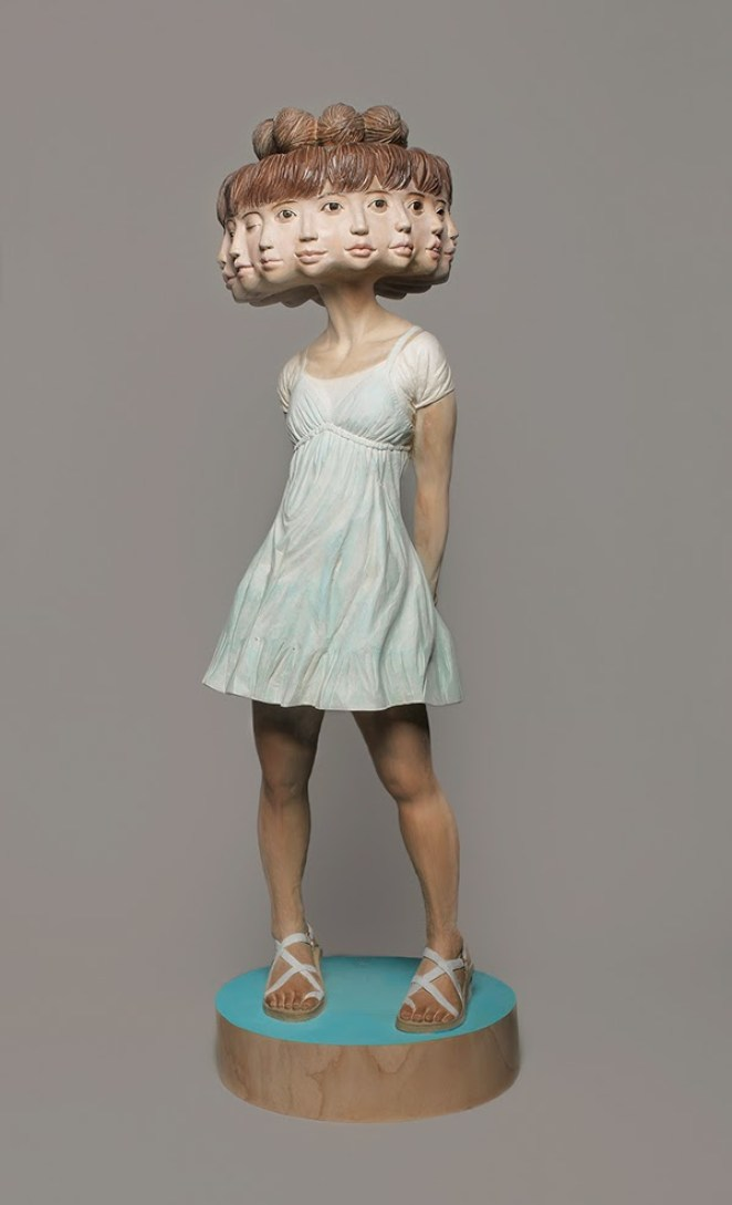 Surreal Wood Sculptures of Yoshitoshi Kanemaki - Girly Design Blog