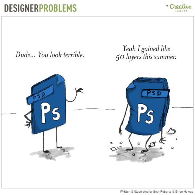 Funny Illustrations of Everyday Designer Problems