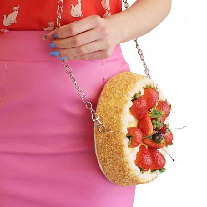 Tasty Food Handbag Designs of Rommy Kuperus - Girly Design Blog