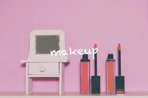 写真スタンプ:『makeup』