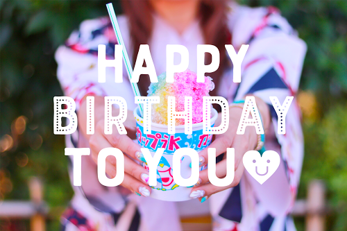 「HAPPY BIRTHDAY」「おめでとう」「お祝い」「お誕生日おめでとう」「夏」「夏の誕生日」などがテーマのフリー写真画像