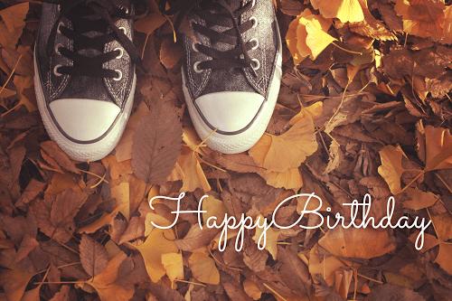 【可愛い誕生日おめでとう画像】秋生まれさんにプレゼントしたい『HAPPY BIRTHDAY』ver.1