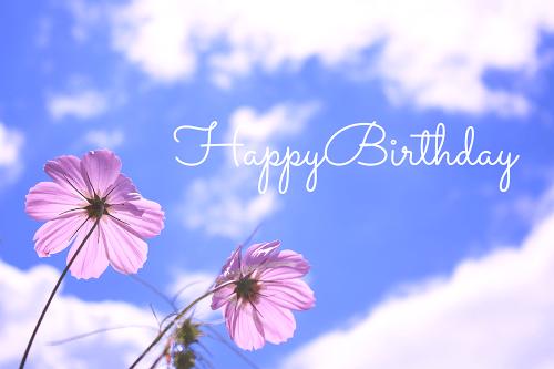 【可愛い誕生日おめでとう画像】秋生まれさんにプレゼントしたい『HAPPY BIRTHDAY』ver.3